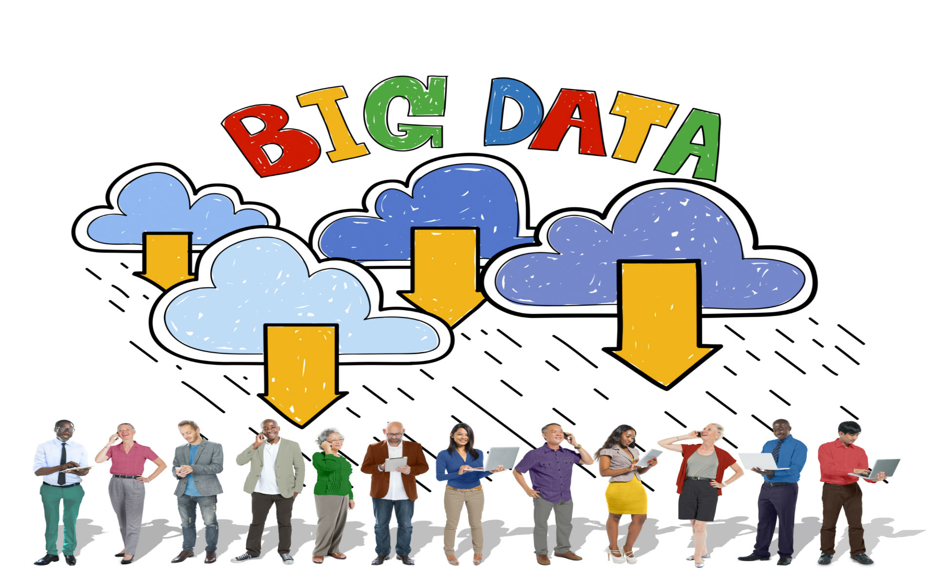 Leveraging Cloud to Invite Big Data and Mobility